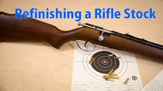 How to Refinish a Rifle Stock -  woodworkweb