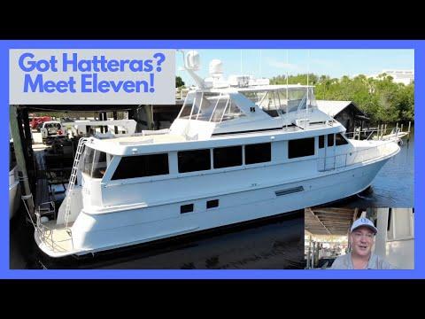 Hatteras 74' MOTORYACHT video