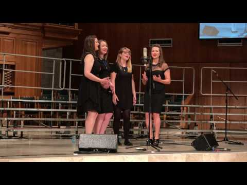 "Performance of ""The Way I Am"" arranged by Patrick McAlexander with The Ladies."