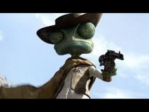 Animated Movie Review-Rango