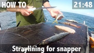 HOW TO: STRAYLINING FOR SNAPPER