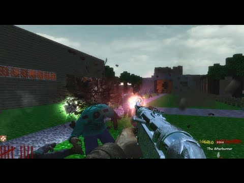 Communauté Steam :: Vidéo :: CoD WaW: custom zombie map minecraft ...