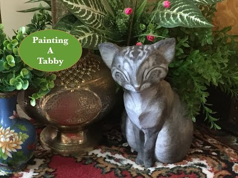Painting a Tabby Cat