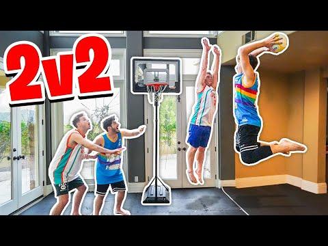 HOUSE 2V2 Mini Basketball *Injury Warning*