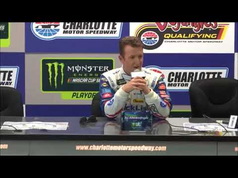 2018 NASCAR Charlotte Roval Post-Qualifying Q&A