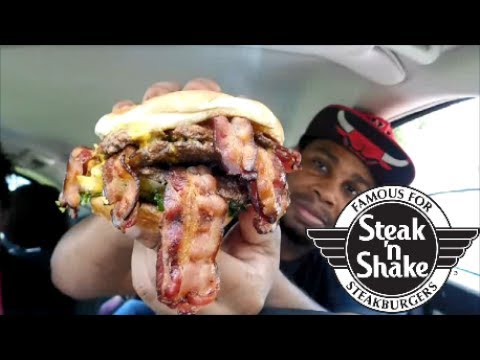 Steak 'n Shake New Bacon 'n Cheese Triple Xtreme Burger Review