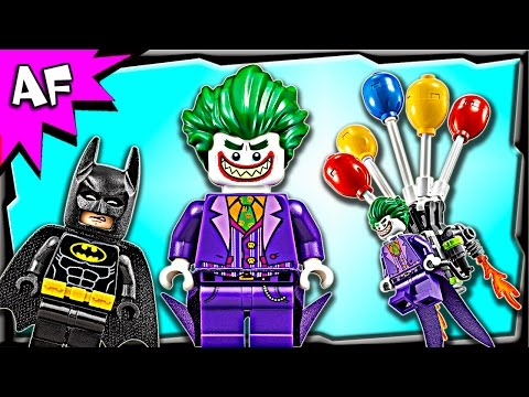 Vidéo LEGO The Batman Movie 70900 : L'évasion en ballon du Joker
