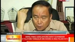 Estudyanteng na-comatose matapos sumabak sa amatuer boxing na inorganisa ng DepEd, pumanaw na