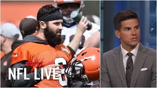 Browns go from being the hunter to the hunted in the AFC North – Field Yates | NFL Live