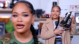 FALL DATE NIGHT GRWM | MAKEUP + OUTFIT | Arnellarmon