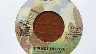 I'm Not in Love - 10cc - Mercury Records (Phonogram) 73678