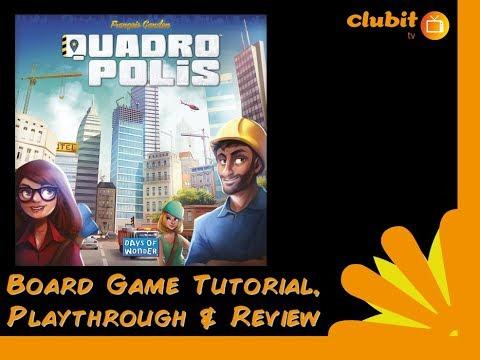 Quadropolis tutorial, playthrough and review