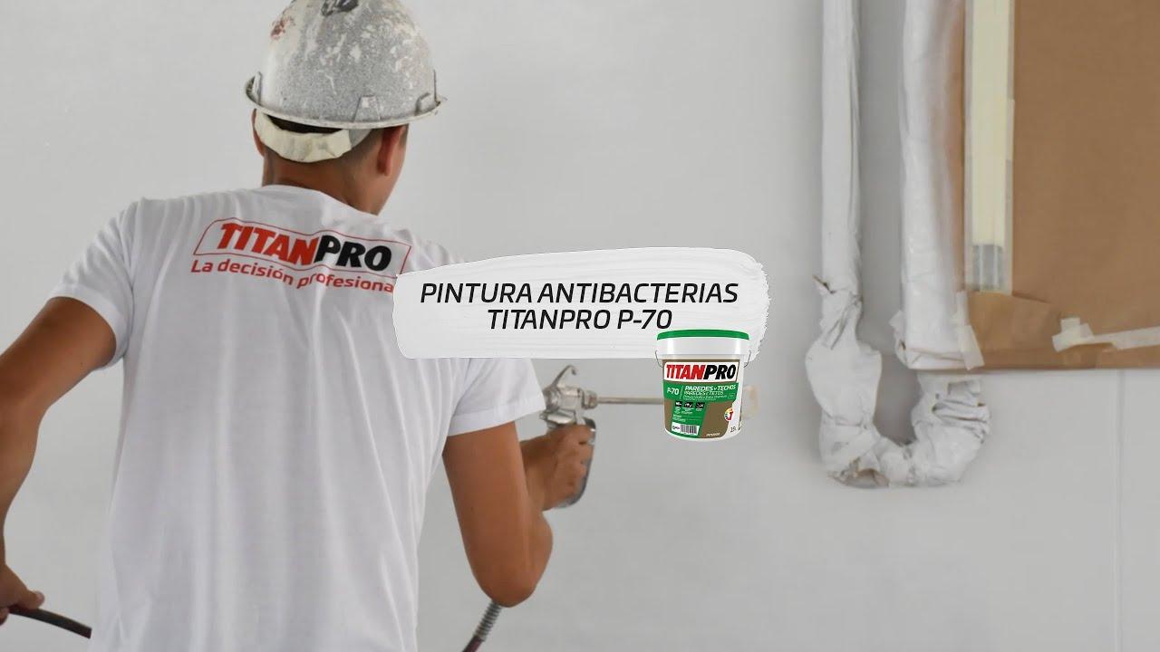 PINTURA ANTIBACTERIAS TITANPRO P-70
