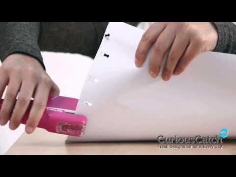 Klammerloser Hefter - Bostich ohne Klammern - Hefter - Papierhefter