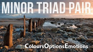 Minor Triad Pair Options| Emotions| Colours| For Improvisation