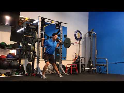 Barbell Lateral Lunge