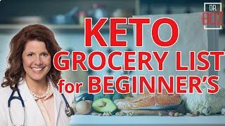 Beginner's Keto Grocery List