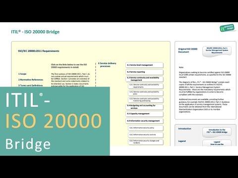 The ITIL - ISO 20000 Bridge - YouTube