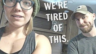 WE'RE OVER THIS WEATHER // COOPED UP IN THE COLD