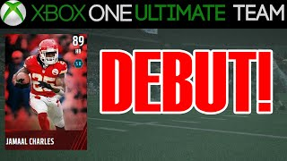Madden 15 - Madden 15 Ultimate Team - JAMAAL CHARLES DEBUT | MUT 15 Xbox One Gameplay