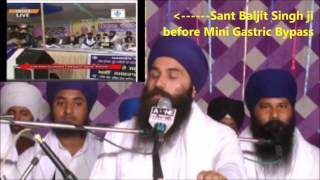 Sant Baljit Singh Daduwal shares his experience of Mini Gastric Bypass