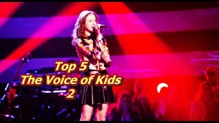 Top 5 - The Voice of Kids 2