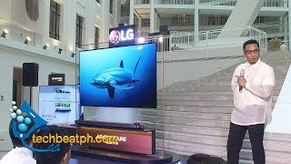 LG OLED TV at the National Museum of Natural History