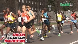 preview picture of video 'Orlen Warsaw Marathon 2013 (long)'