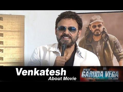 Venkatesh praises team Garuda Vega