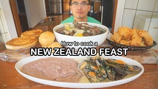 How to cook a NEW ZEALAND FEAST