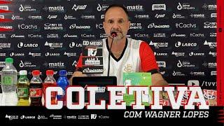 Apresentação do novo técnico do Vitória, Wagner Lopes