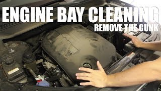 How to Safely Clean Your Engine Bay (OLD METHOD)