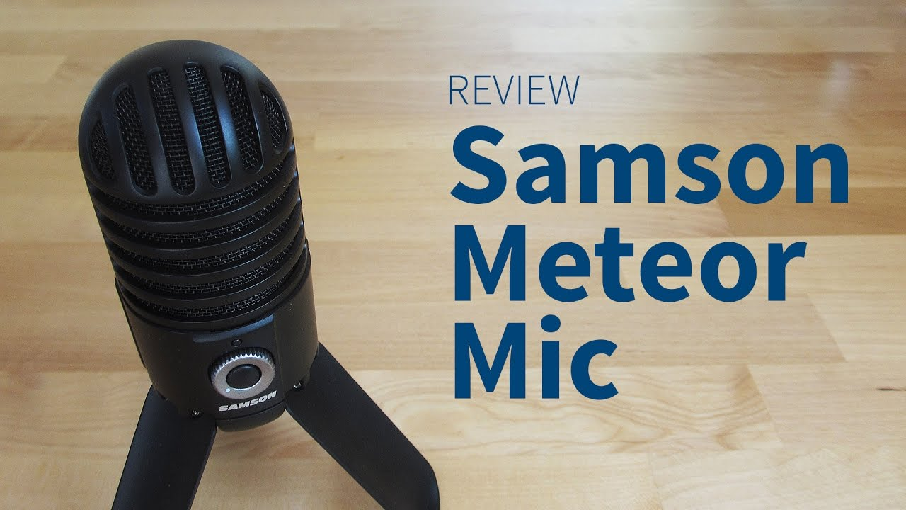 Samson Meteor Mic – Review, Sound-Test und Erfahrungsbericht