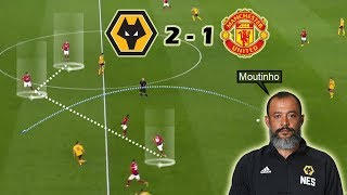 Nuno Continues His Impressive Run Against The BIG SIX | Wolves Vs Man United 2-1 | Tactical Analysis