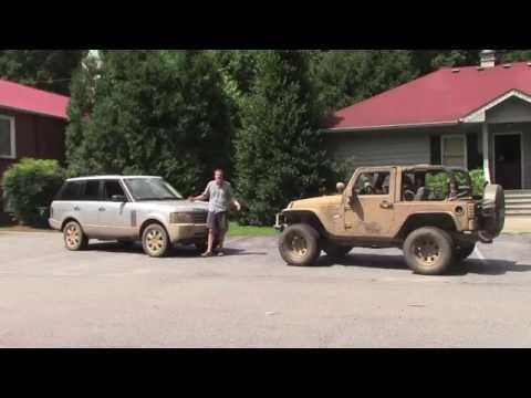 Off-Roading in a 2006 Range Rover