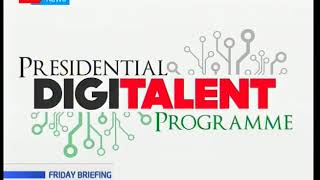 ICT CS Joe Mucheru officiates the graduation of the Presidential Digital Talent Program