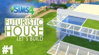 The Sims 4 - Let's Build A Futuristic House - Part 1