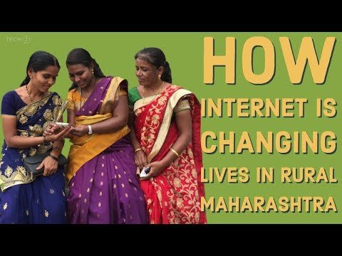 Women in rural Maharashtra are changing their lives using the internet