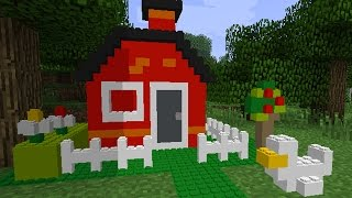 Lego Minecraft Game NOT LIKE MINECRAFT AT ALL!