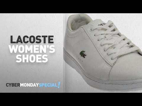 Top Cyber Monday Lacoste Women's Shoes: Lacoste Women's Carnaby Sneaker