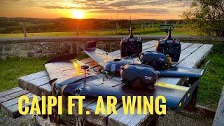 TBS Caipirinha V2 ft. AR Wing Pro   Formation   DJI DVR
