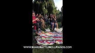 Shake Rattle & Roll Dueling Pianos - Video of the Week - Tenafly Summer Concert
