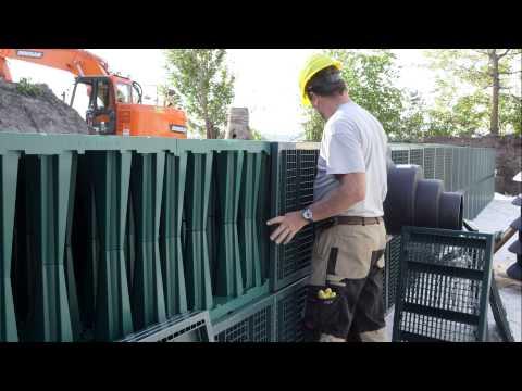 Rigofill ST – Installation of detention/infiltration units