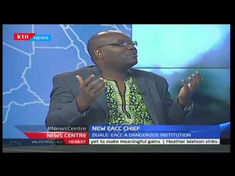 Heading the EACC: With Maurice Odhiambo and Samuel Kimeu 18/1/2017