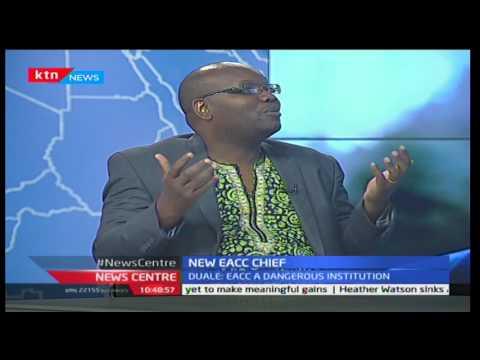 Heading the EACC: With Maurice Odhiambo and Samuel Kimeu 18/1/2017