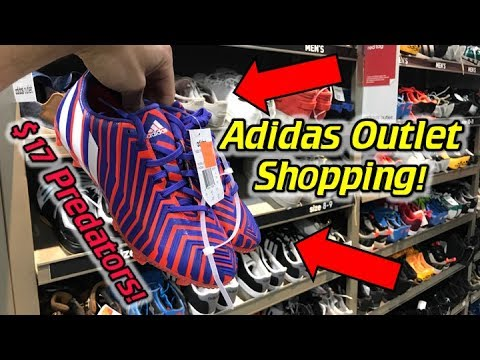 Predators and F50 for Less Than $30! – Adidas and Nike Soccer Cleats/Football Boots Outlet Shopping