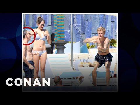 Conan's Executive Producer Partied With Justin Bieber  - CONAN on TBS (видео)
