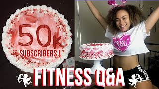 50k Fitness Q&A...while decorating a CAKE