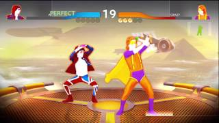 Moves Like Jagger  VS. Never Gonna Give You Up (Battle Mode - Just Dance 4) *5