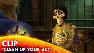 """Clean Up Your Act"" Clip - Disney/Pixar"